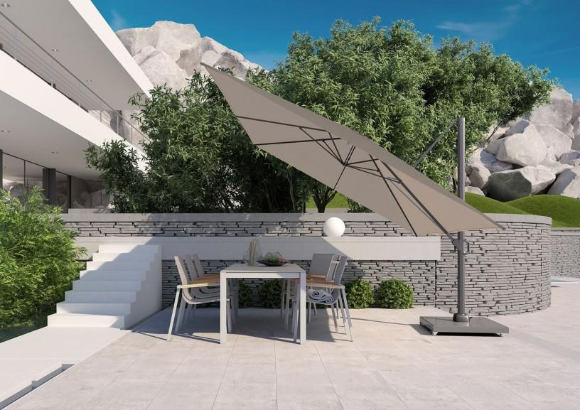 parasol ogrodowy duży: Challenger T¹ Premium 3x4m