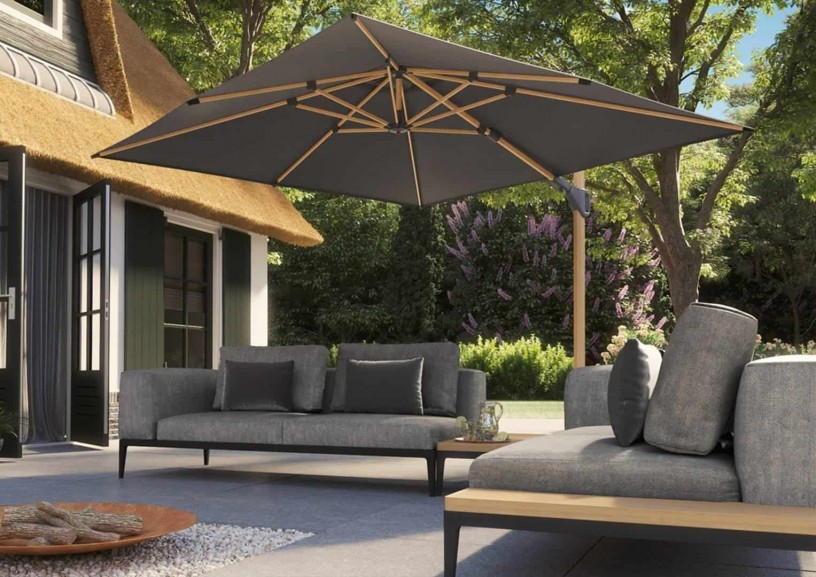 Parasol kwadratowy – estetyczny i funkcjonalny element wyposażenia ogrodu