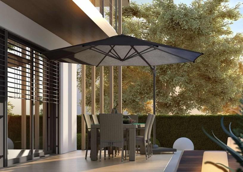Parasol ogrodowy 350 cm – perfekcyjne konstrukcje ogrodowe