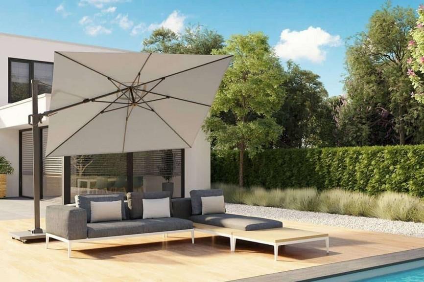 parasol ogrodowy 350 cm Challenger