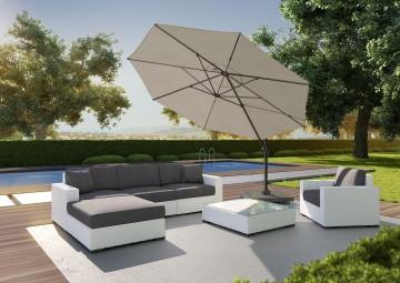 Okrągły parasol ogrodowy Falcon T¹ 3m