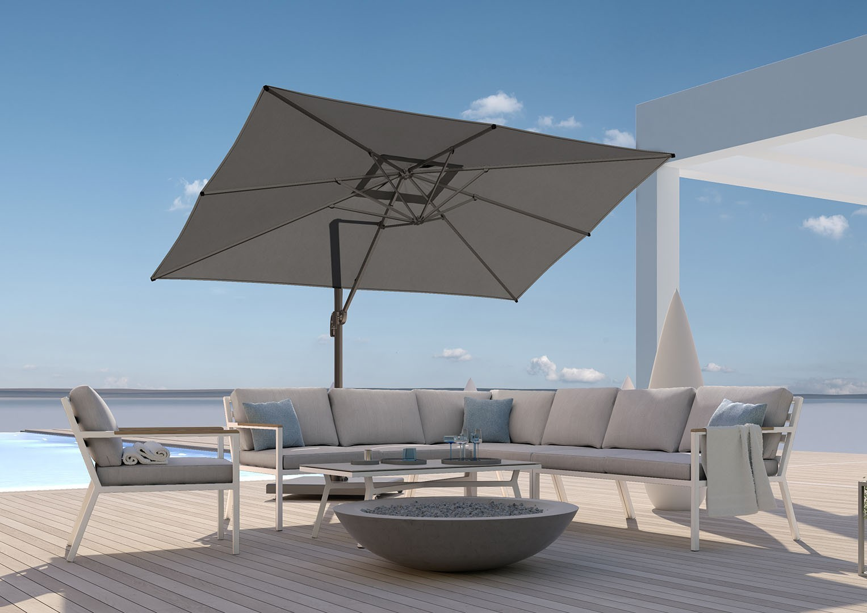 parasol ogrodowy regulowany Falcon