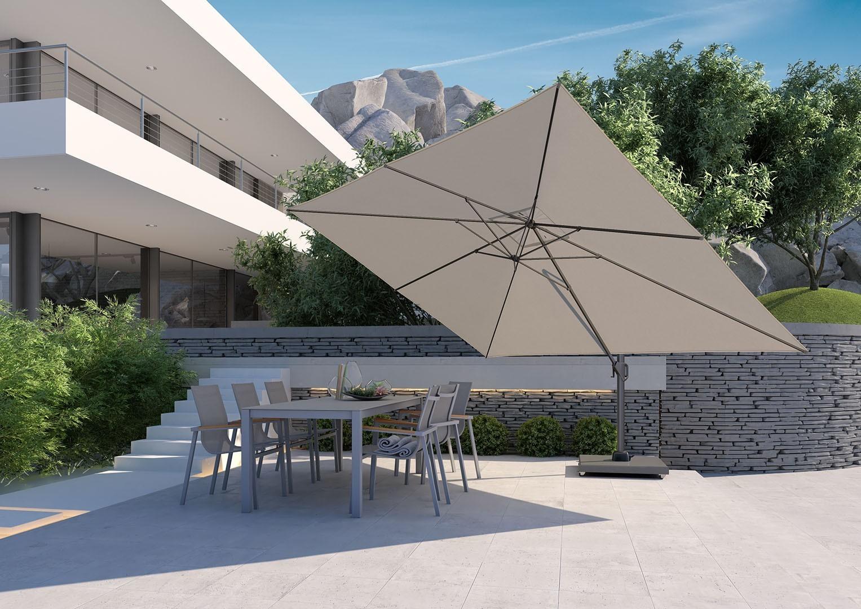 parasol przeciwdeszczowy ogrodowy Challenger T¹ Premium 3m x 4m