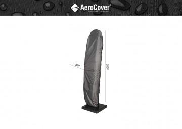 Oddychający pokrowiec ogrodowy na parasol z nogą boczną 250x85cm