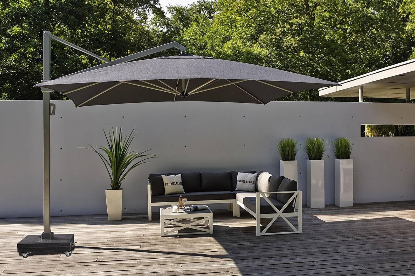parasol rozkładany ogrodowy Icon 4m x 3m