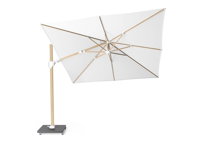 Kwadratowy parasol ogrodowy Challenger T² 3m x 3m Oak